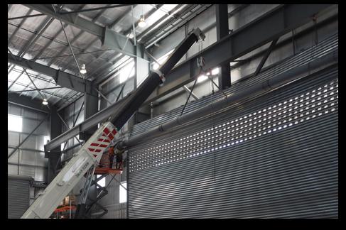 Industrial Roller Shutter Doors Installation