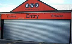 BWS Industrial Roller Doors